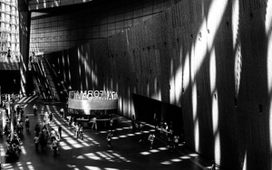 Shadows In Tokyo International Forum