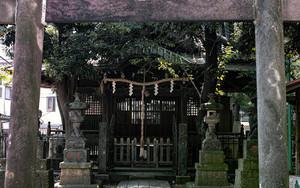 品川で見つけた小さな神社