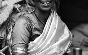 Mother Wearing A Saree