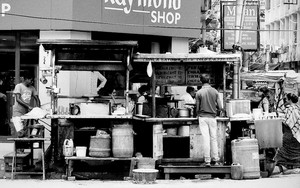 Back Side Of A Food Stall