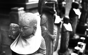 Jizo Facing Away