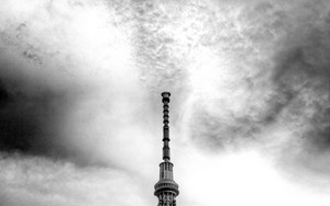 Skytree Stretches Up Toward The Sky