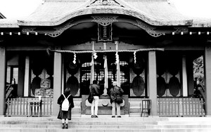 Worshipers In Anamori Inari