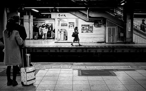 Girl On The Opposite Platform