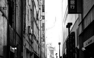 Back Street In Shinjuku