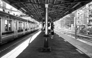 北池袋駅のプラットフォーム