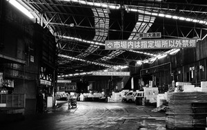Wide Aisle In Tsukiji Market