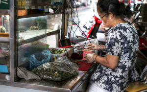 Woman Selling Betel Nuts
