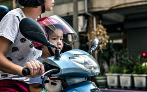 Kid On The Motorbike