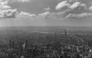 台北の街並