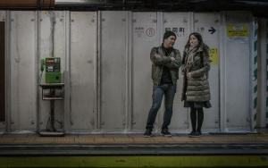 Couple And Public Telephone