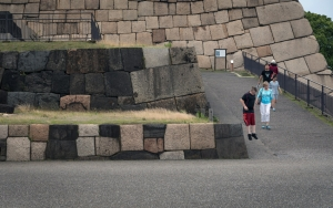 Jump From Stone Wall