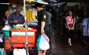 Stall Selling Beverages
