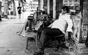 Guardsman Sleeping