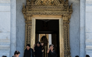 Entrance Of Lak Mueang