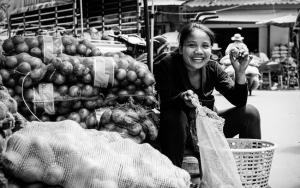 笑顔と馬鈴薯