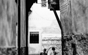 Ball And Well In The Alleyway