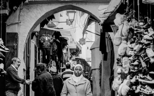 Woman Wearing A Hijab And A Coat