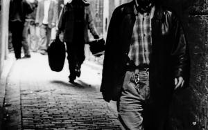 Man In The Dim Lane