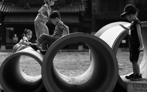Clay Pipes And Children