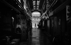 Dim Shopping Arcade