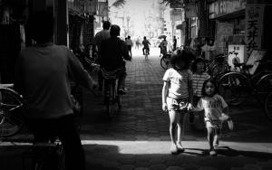 Kids In The Sunny Spot